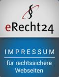 Siegel Impressum e-recht24 width=